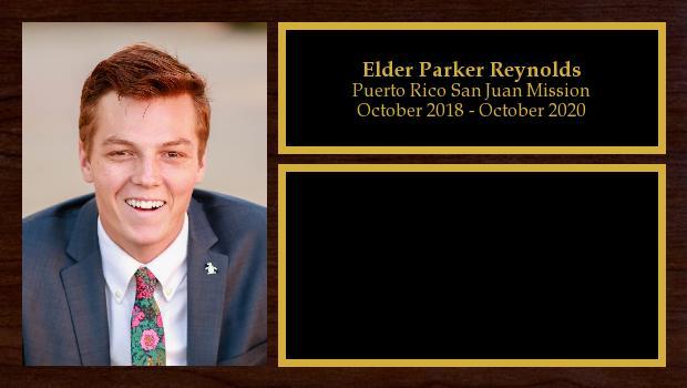 October 2018 to October 2020<br/>Elder Parker Reynolds
