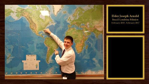 February 2015 to February 2017<br/>Elder Joseph Arnold