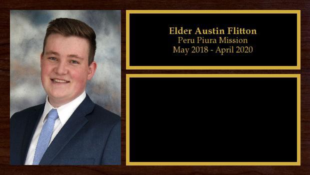 May 2018 to April 2020<br/>Elder Austin Flitton