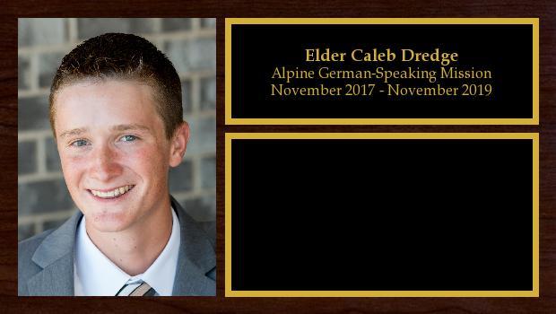November 2017 to November 2019<br/>Elder Caleb Dredge