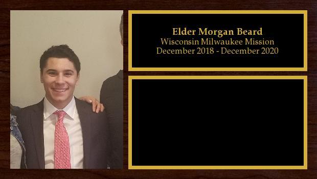 December 2018 to December 2020<br/>Elder Morgan Beard