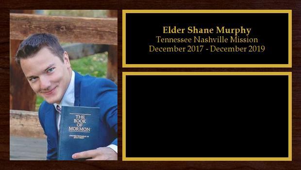 December 2017 to December 2019<br/>Elder Shane Murphy