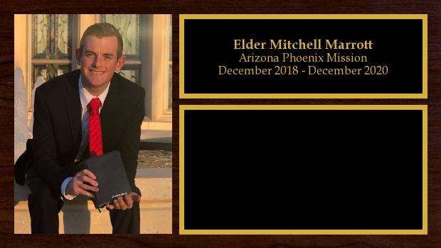 December 2018 to December 2020<br/>Elder Mitchell Marrott