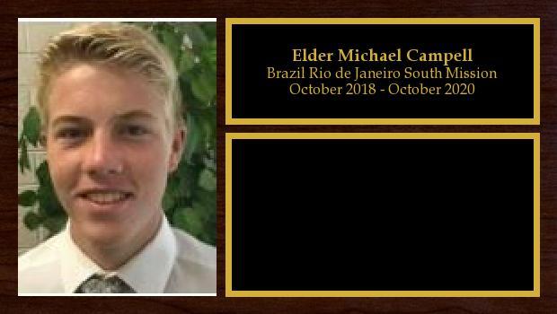 October 2018 to October 2020<br/>Elder Michael Campell