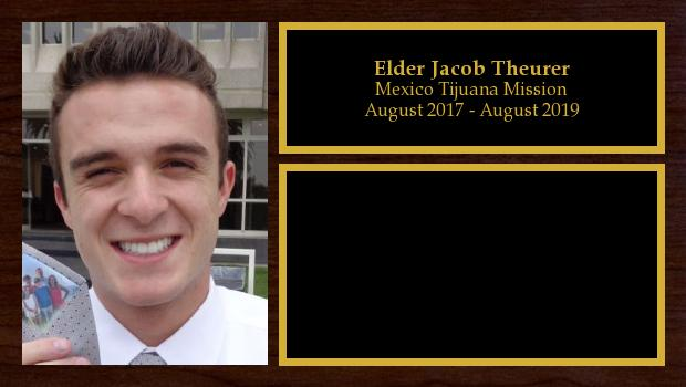 August 2017 to August 2019<br/>Elder Jacob Theurer