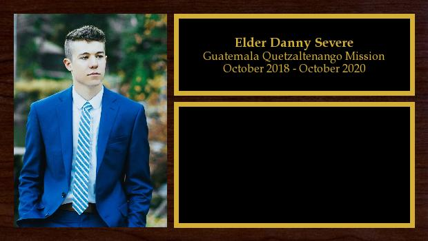 October 2018 to October 2020<br/>Elder Danny Severe