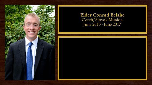 June 2015 to June 2017<br/>Elder Conrad Belshe