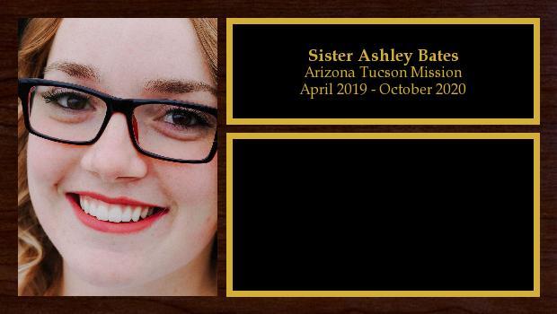 April 2019 to October 2020<br/>Sister Ashley Bates