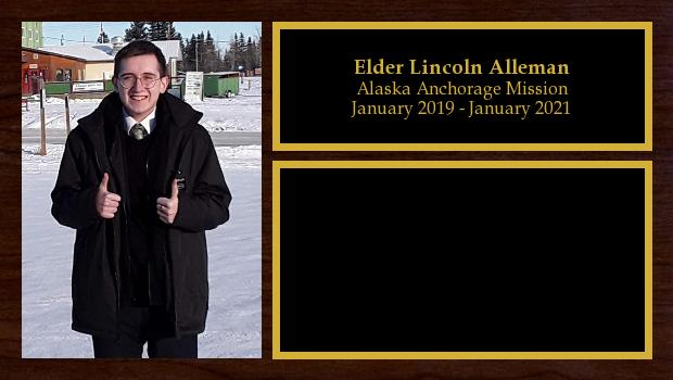 January 2019 to January 2021<br/>Elder Lincoln Alleman