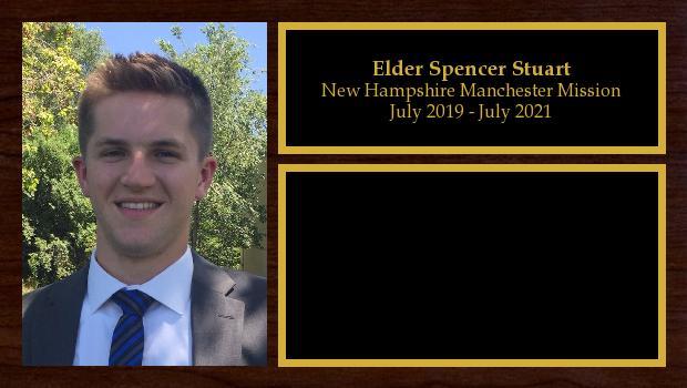 July 2019 to March 2020<br/>Elder Spencer Stuart