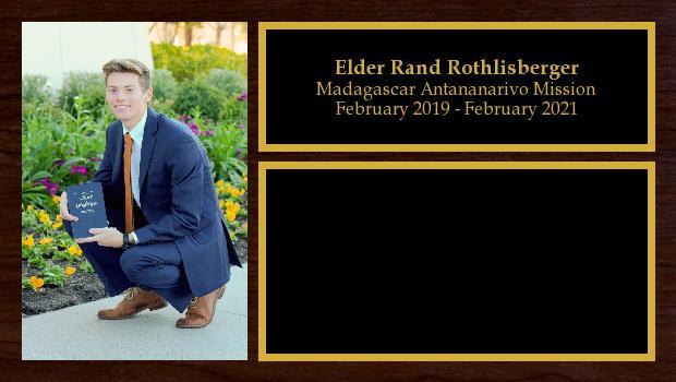 February 2019 to February 2021<br/>Elder Rand Rothlisberger