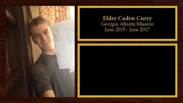June 2015 to June 2017<br/>Elder Caden Curry