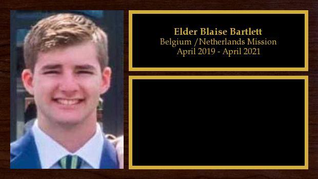 April 2019 to April 2021<br/>Elder Blaise Bartlett