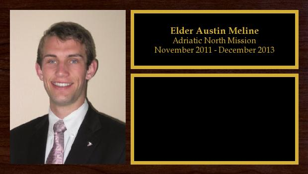 November 2011 to December 2013<br/>Elder Austin Meline