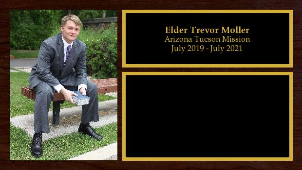 July 2019 to July 2021<br/>Elder Trevor Moller