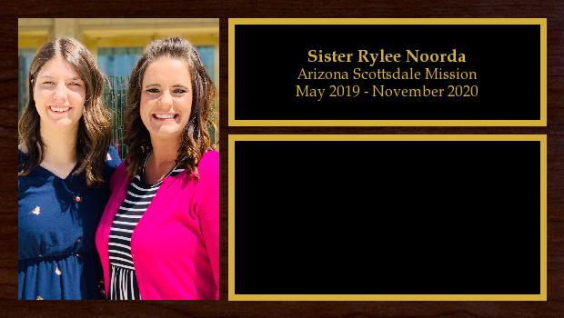 May 2019 to November 2020<br/>Sister Rylee Noorda