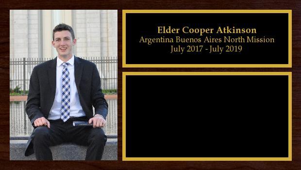 July 2017 to July 2019<br/>Elder Cooper Atkinson
