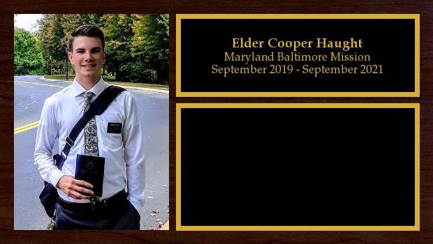 September 2019 to September 2021<br/>Elder Cooper Haught