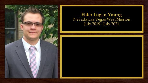 July 2019 to July 2021<br/>Elder Logan Young