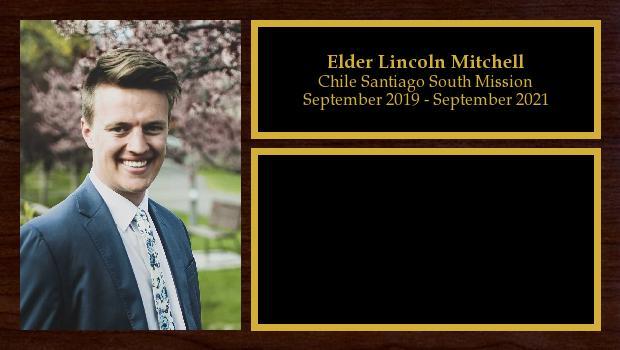 September 2019 to September 2021<br/>Elder Lincoln Mitchell