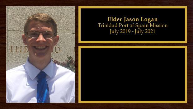 July 2019 to August 2021<br/>Elder Jason Logan