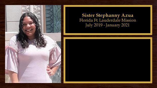 July 2019 to January 2021<br/>Sister Stephanny Azua