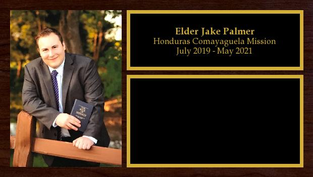 July 2019 to May 2021<br/>Elder Jake Palmer