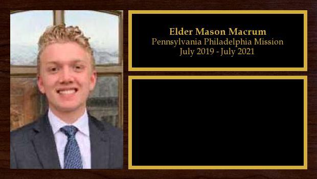 July 2019 to July 2021<br/>Elder Mason Macrum