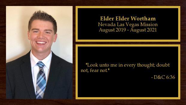 August 2019 to August 2021<br/>Elder Jeffrey Wortham