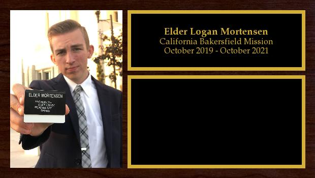 October 2019 to October 2021<br/>Elder Logan Mortensen