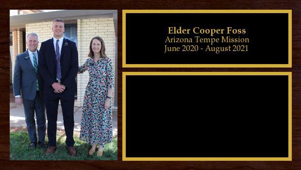 June 2020 to August 2021<br/>Elder Cooper Foss