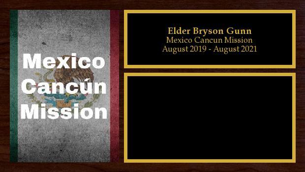 August 2019 to April 2020<br/>Elder Bryson Gunn