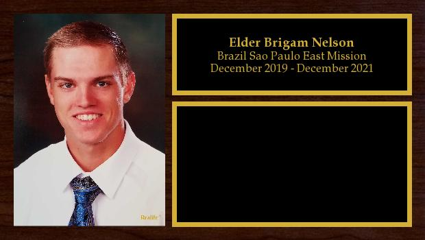 December 2019 to December 2021<br/>Elder Brigam Nelson