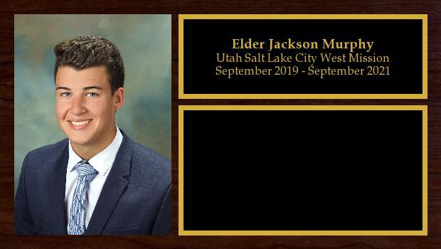September 2019 to September 2021<br/>Elder Jackson Murphy
