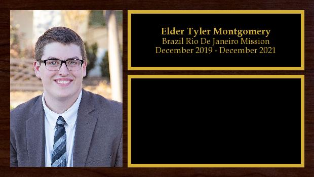 December 2019 to December 2021<br/>Elder Tyler Montgomery