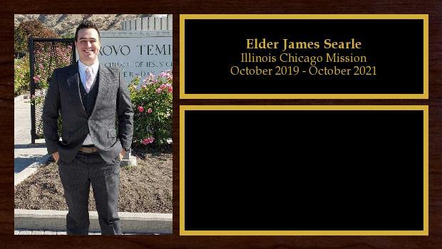 October 2019 to October 2021<br/>Elder James Searle