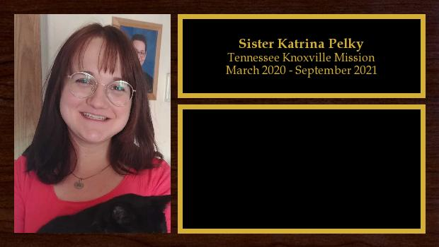March 2020 to September 2021<br/>Sister Katrina Pelky