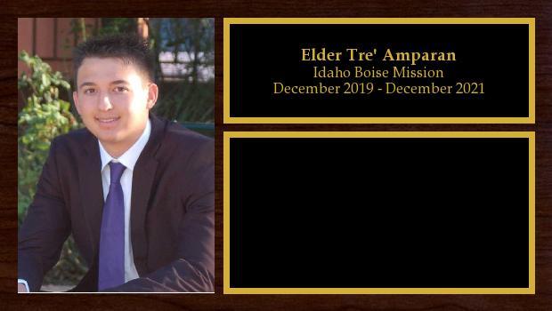 December 2019 to December 2021<br/>Elder Tre' Amparan