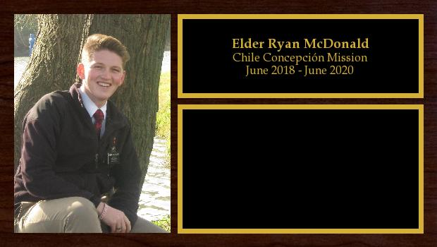 June 2018 to April 2020<br/>Elder Ryan McDonald