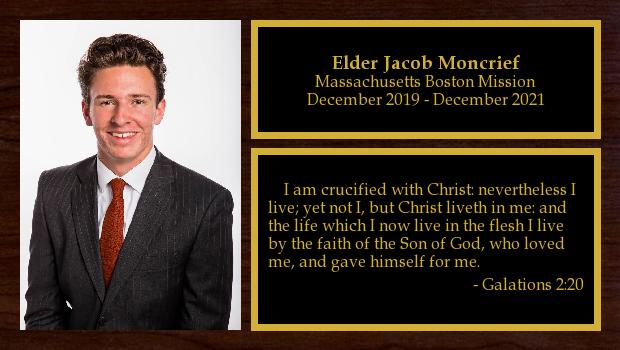 December 2019 to December 2021<br/>Elder Jacob Moncrief