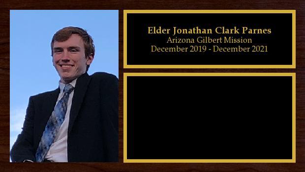 December 2019 to December 2021<br/>Elder Jonathan Clark Parnes