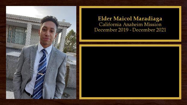 December 2019 to December 2021<br/>Elder Maicol Maradiaga