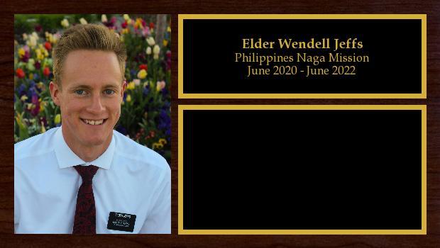June 2020 to June 2022<br/>Elder Wendell Jeffs