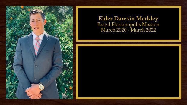 March 2020 to March 2022<br/>Elder Dawsin Merkley