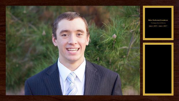 June 2015 to June 2017<br/>Elder Nathaniel Goodman