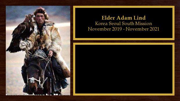 November 2019 to November 2021<br/>Elder Adam Lind