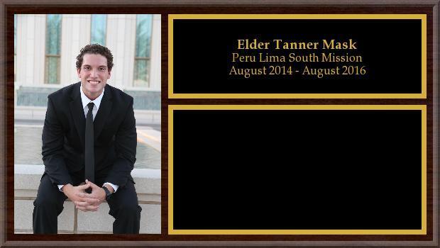 August 2014 to August 2016<br/>Elder Tanner Mask