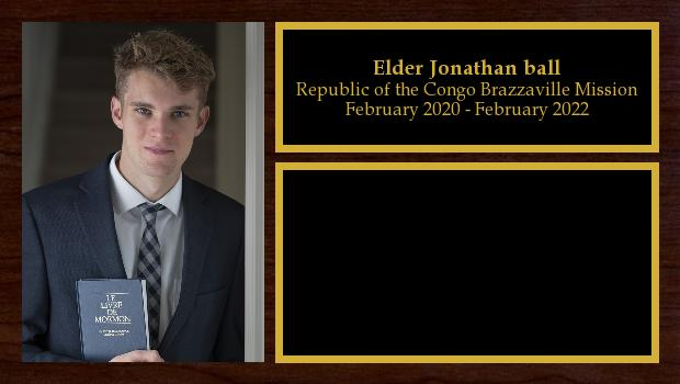 February 2020 to February 2022<br/>Elder Jonathan ball