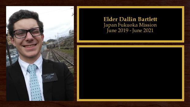 June 2019 to June 2021<br/>Elder Dallin Bartlett