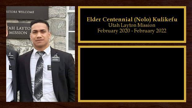 February 2020 to February 2022<br/>Elder Centennial (Nolo) Kulikefu